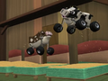 S1E18 Cows jumping on the hay beds - cropped