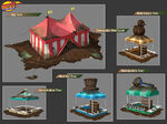 Mud Fest tents design
