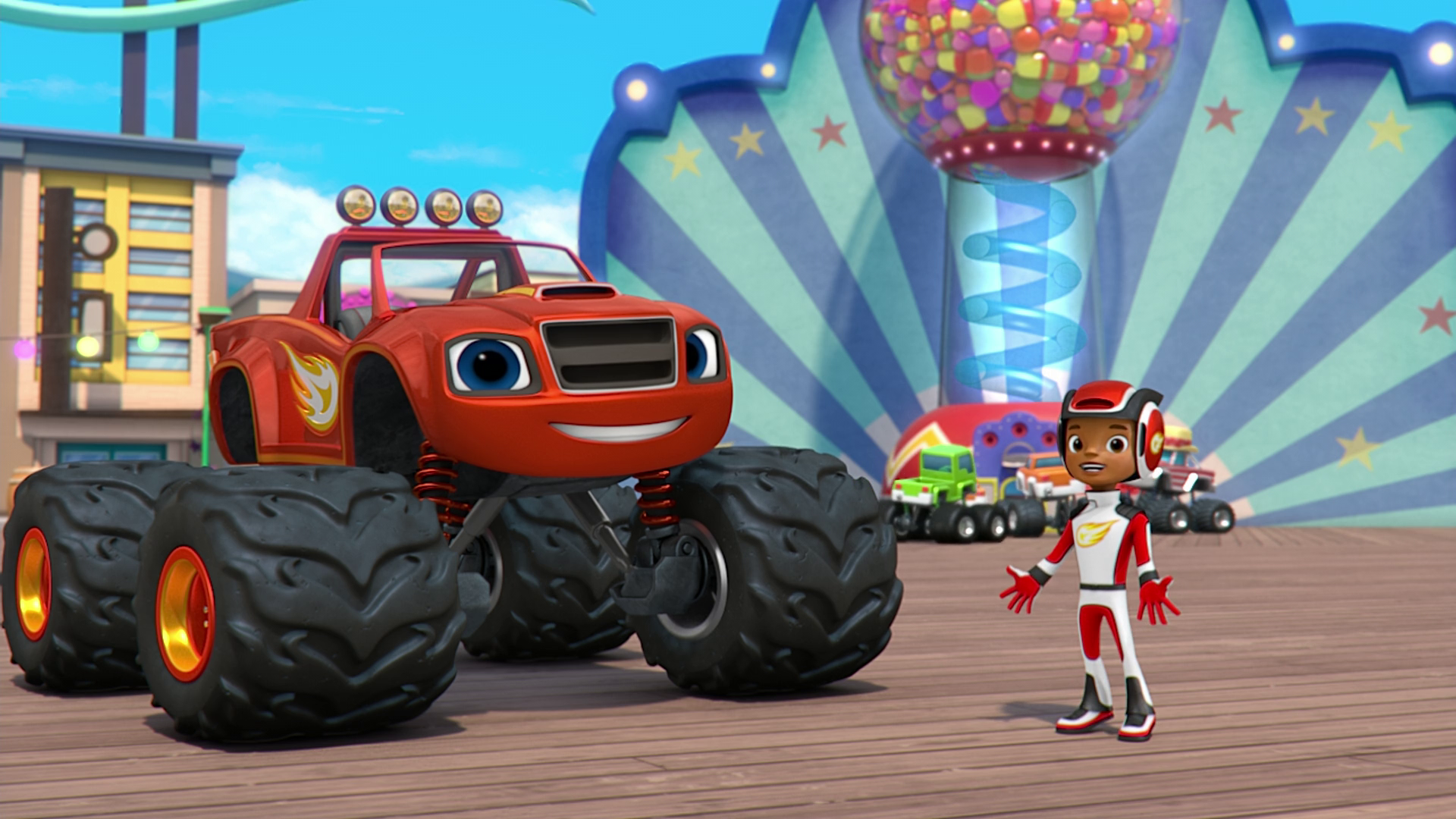 The Super-Size Prize/Trivia   Blaze and the Monster Machines