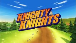 Knighty Knights title card