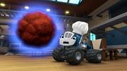 """S4E8 Crusher shocked """"Giant meatball?!"""""""