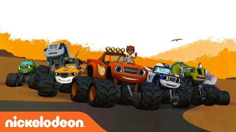 Blaze and the Monster Machines Engineered for Awesome Nick Jr.