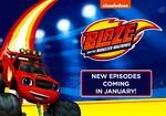 Blaze and the Monster Machines New Episodes Coming In January