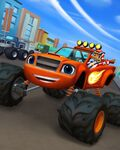 Blaze and the Monster Machines Blaze in Axle City promo