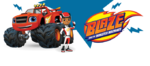 Blaze and AJ sprite Nick Jr.com international