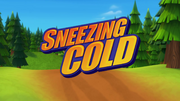 Sneezing Cold title card