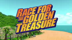 Race for the Golden Treasure title card