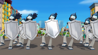 S1E1-2 Robot knights marching on