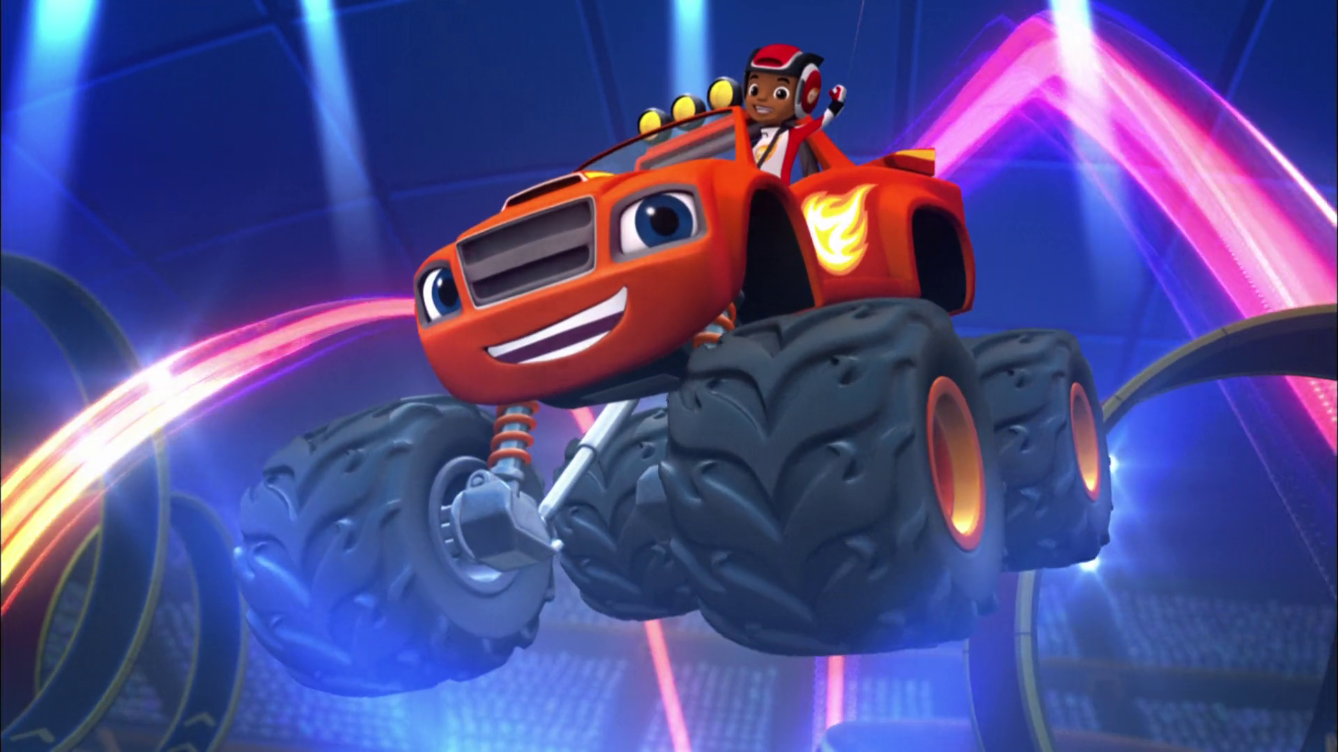Blaze And The Monster Machines Theme Blaze And The Monster
