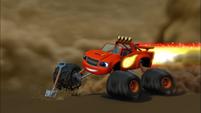S2E13 Blaze digging at Blazing Speed