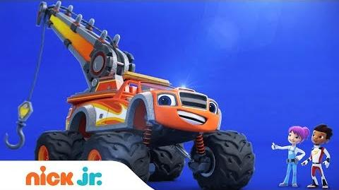 'Blaze Tow Truck Tough' Special Episode Airs Nov. 22nd Blaze and the Monster Machines Nick Jr.