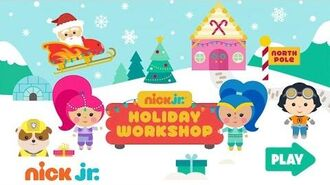 Play the Free 'Nick Jr. Holiday Workshop Game' w PAW Patrol & More Favorite Characters Games