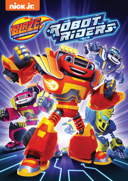 Robot Riders (DVD) | Blaze and the Monster Machines Wiki