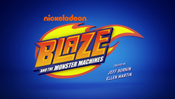 S3 Theme Blaze and the Monster Machines titlecard
