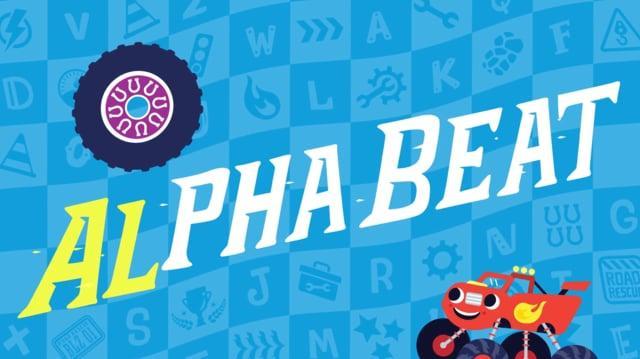 Nick Jr. Alpha-Beats Blaze & The Monster Machines