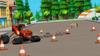 S2E1 Blaze zigzags past road cones
