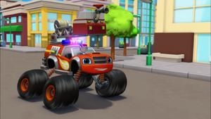 "S2E11 Blaze ""Firefighter Blaze is on the way!"""