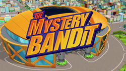 The Mystery Bandit title card