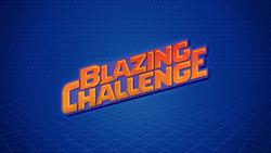 Blazing Challenge logo