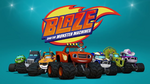 Blaze and the Monster Machines promotional group shot - alternate