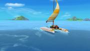 S1E6 Sailboat sails across the ocean