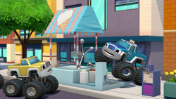 S4E6 Modified ice cream stand