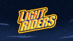 Light Riders title card