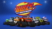 Blaze and the Monster Machines promotional group shot