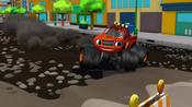 S1E4 Blaze slides across rocky road
