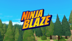 Ninja Blaze title card