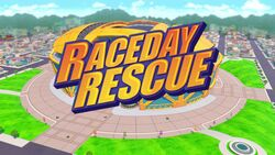 Raceday Rescue title card