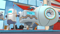 S4E3 Wrecking robots standing together