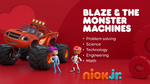 Blaze and the Monster Machines 2018 Nick jr. curriculum board
