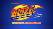 S2 RCA Theme Blaze and the Monster Machines Race Car Adventures titlecard