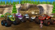 S1E15 Muddy Monster Machines regroup