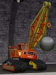 S3E5 Blaze crawler crane ID