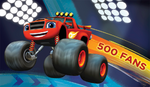 Blaze and the Monster Machines 500 Fans Facebook photo