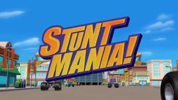 Stuntmania! title card