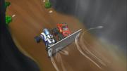 S2E8 Blaze and Darington struggling through the tunnel