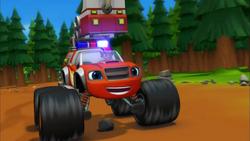 S2E11 Fire Truck Blaze's big smile