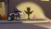 S2E3 Starla likes AJ's bat shadow
