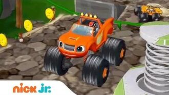 Blaze and the Monster Machines Racing Game Walkthrough Jr. Gamers Preschool App (AD) Nick Jr.