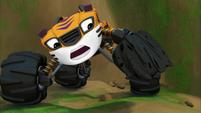 S3E15 Stripes notices his broken tire