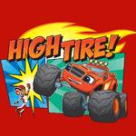 Blaze and AJ high tire photo