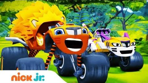 'Wild Wheels Adventures' Special Premieres Oct. 24th! Blaze and the Monster Machines Nick Jr.