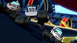 Meet Crusher promo Crusher passing racers
