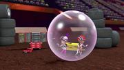 S3E19 Bubble traps Gabby and AJ