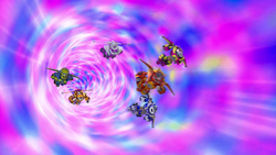 S4E9 Monster Machines inside the wormhole