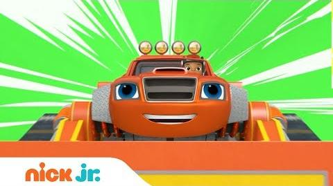NEW Blaze and the Monster Machines Construction Episode Sneak Peek & Special Song Nick Jr.