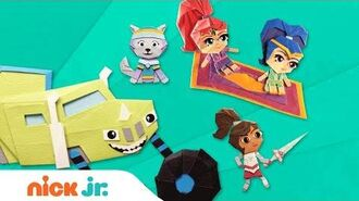 PAW Patrol, Blaze, Nella & More! Paper Craft Fun Nick Jr.